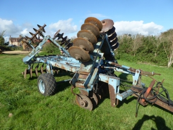 PARMITER TRAILED DISC HARROWS