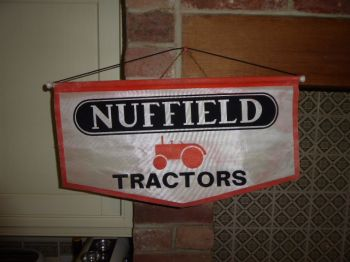 NUFFIELD  SALES FLAG