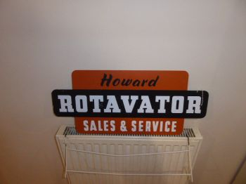 HOWARD ROTOVATOR SALES SIGN